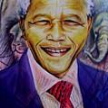Nelson Mandela by Wale Adeoye