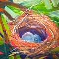 Nest Of Prosperity 6 by Pam Van Londen