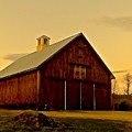New England Barn by Elizabeth Tillar