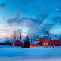 New England Winter by Michael Petrizzo