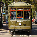 New Orleans Cable Car by Anthony Totah