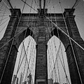 New York City - Brooklyn Bridge by Scott Moore