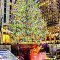 New York City Christmas Tree by William Rogers