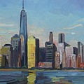 New York Skyline by John Kilduff