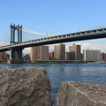 New York's Manhattan Bridge by Dora Sofia Caputo Photographic Design and Fine Art