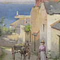 Newlyn From The Bottom Of Adit Lane by Leghe Suthers
