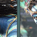 Neytiri - Gently Cross Your Eyes And Focus On The Middle Image by Brian Wallace