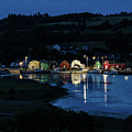 Night At French River Harbour, Pei by Rob Huntley
