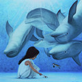 Ninia Del Mar by Angel Ortiz