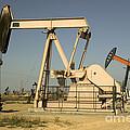 Nodding Donkey Oil Pumps by Inga Spence