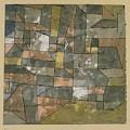 North German City by Paul Klee