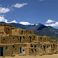 North Pueblo Taos by Kurt Van Wagner