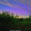 Northern Lights At Mount Pilchuck by Brandon Larson