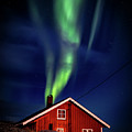 Northern Lights Chimney by Brad Rempel