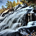 Northern Michigan Up Waterfalls Bond Falls by Mark Duffy