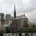 Notre Dame Cathedral In Paris, France by Richard Rosenshein