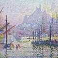 Notre Dame De La Garde, La Bonne Mere, Marseilles by Paul Signac