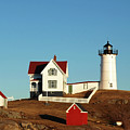 Nubble Light House by Mary Capriole