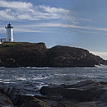 Nubble Lighthouse by David Bishop
