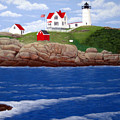 Nubble Lighthouse by Frederic Kohli