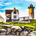 Nubble Lighthouse by Mark Sellers