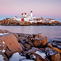 Nubble Winter Dusk by Susan Cole Kelly