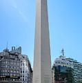 Obelisco De Buenos Aires by Randy Scherkenbach