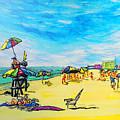 ocean/ Beach by W Gilroy