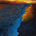 Ocean Sunset by Frances Marino