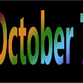 October 7 by Day Williams