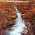 October Goshen Creek by Peter R Davidson
