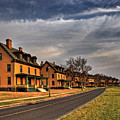 Officer's Row At Sandy Hook  by Rich Despins