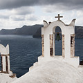 Oia Santorini 0989 by Bob Neiman