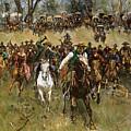 Oklahoma Land Rush, 1891 by Granger