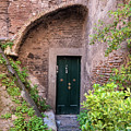 Old Buildings In The Jewish Ghetto In Rome by Frank Bach