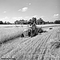 Old Combine by Larry Keahey