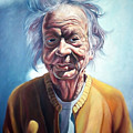 Old Farm Lady by Christopher Shellhammer