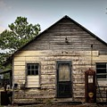 Old Filling Station by Paulette Thomas