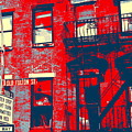 Old Fulton St by Marvin Blatt