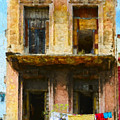 Old Havana Building by Les Palenik