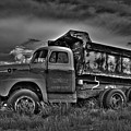 Old International - Bw 2 by Tony Baca