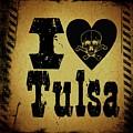 Old Tulsa by Randolph Ping