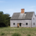 Oldest House - Nantucket Massachusetts. by Henry Krauzyk