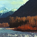 On The Squamish River 2223 by Lyle Crump