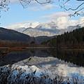 One Mile Lake Reflection Pemberton B.c Canada by Pierre Leclerc Photography
