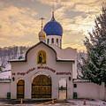 One Monastery by Lyudmila Prokopenko
