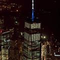 One World Trade Center In New York City  by David Oppenheimer
