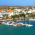 Oranjestad Aruba by Gary Wonning
