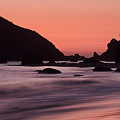 Oregon Coast Sunset by Don Schwartz