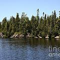 Orphan Lake, Canada by Ted Kinsman